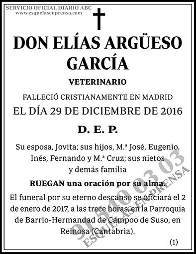 Elías Argüeso García